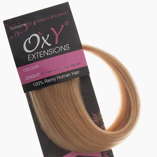 Extension à Clip 38cm 70g 27 Blond Foncé-0