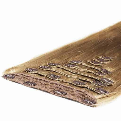 Extension à Clip Deluxe 50cm 200g 16 Blond Cendré-0