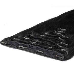 Extension à Clip Deluxe 50cm 200g 01 Noir Jais-0