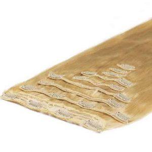 Extension à Clip Deluxe 50cm 200g Blond Doré 22-0